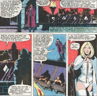 The Hellfire Club's military industrial influence always makes them even more interesting