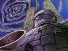 Technodrome looking All-Seeing and a little high