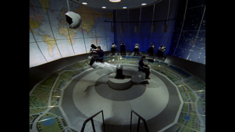 The Prisoner's control room