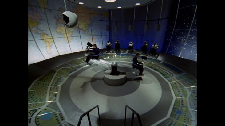 The Prisoner's control room