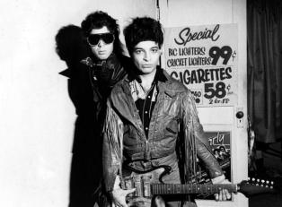 UNITED STATES - JANUARY 01: Photo of SUICIDE; Martin Rev and Alan Vega (Photo by Ebet Roberts/Redferns)